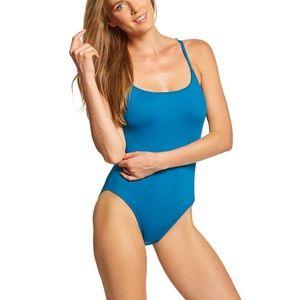 La Blanca Teal Goddess One Piece Swim Suit